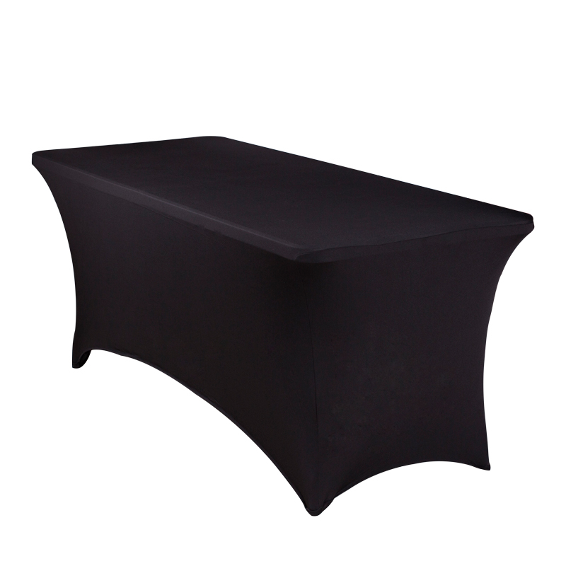 Hire items from Double Vision Mobile Bars - Fitted Tablecloth (black)