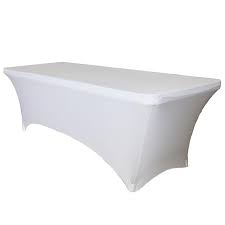 Hire items from Double Vision Mobile Bars - Fitted Tablecloth (white)
