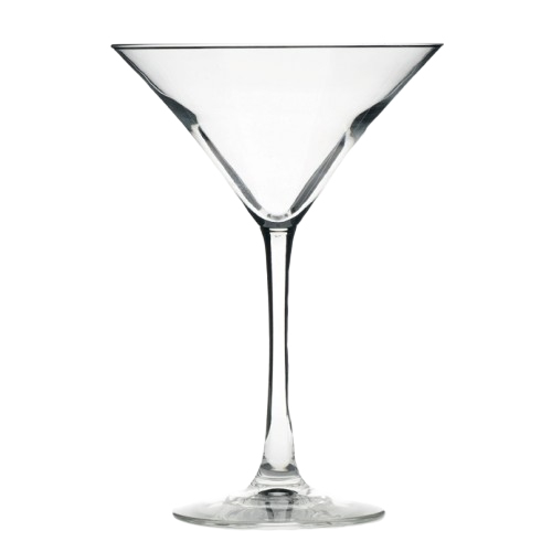 Hire items from Double Vision Mobile Bars - Martini Glass