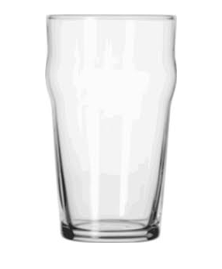 Hire items from Double Vision Mobile Bars - Unbranded Pint Glass